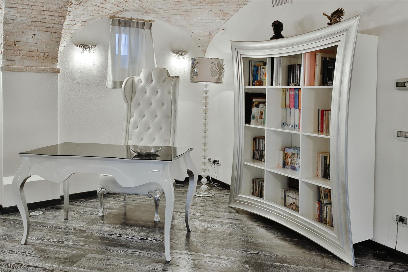 CORNICHE - Bookcase, Tv Holder